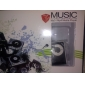 TF Card Reader MP3-плеер сумка с зажимом Black & White