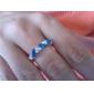 Emerald Anel de diamante doce