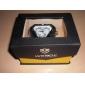 WEIDE 남성 손목 시계 LED 달력 크로노그래프 방수 듀얼 타임 존 경보 석영 일본 쿼츠 스테인레스 스틸 밴드 럭셔리 실버