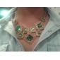 Luxuriöse Edelstein Halskette