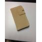 Etui Portefeuille à Boucle en Similicuir avec Port Cartes pour iPhone 4/4S