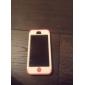 3-em-1 Projeto Caixa branca rígido com sólida dentro da cor de silicone para iPhone 5C (cores sortidas)