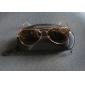 Sonnenbrille, UV400, mit Goldfarbigem Rahmen und Tawny Linse)