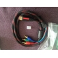 HDMI V1.3 to 3RCA RGB Audio Video AV Component Cable (1.5m, Black & Red)