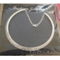 Women's Choker Necklaces Crystal Rhinestone Alloy Costume Jewelry Jewelry For Party