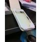 Премиум чехол из искусственной кожи, для iPhone 4 / 4 (белый)
