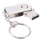 8gb girar material metal mini-usb pen drive flash de