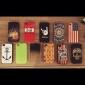 Capa Macia TPU em Cores Sólidas para iPhone 4/4S (Cores Diversas)
