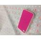 Gridding Design Силиконовый мягкий чехол для iPhone 4/4S (разных цветов)