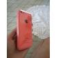 아이폰 5C에 대한 단색 투명 백 케이스
