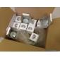 Faretti 12 Capsula LED MR16 GU5.3 1 W 40 LM 3000K K Bianco caldo AC 110-130 V