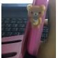 Dustproof 3.5mm Earphone Plug for Cellphone (Bear)