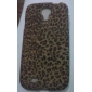 Elegante Leopard Print Pattern Soft Case para Samsung i9500 Galaxy S4