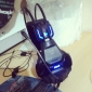 E-3LUE 707 Headphone 3.5mm USB Blue Light Gaming  with Microphone for PC