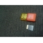 16GB Class 6 MicroSDHC TF Card with SD SDHC Adapter and USB Card Reader random color
