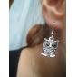 Boucles d'oreille goutte Alliage Mode Forme d'Animal Chouette Bijoux Soirée Quotidien