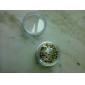 Zestaw 50 Kryształków 2mm do Dekoracji Paznokci