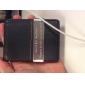 Подарочный именной бумажник из кожзама со слотом для кредитных карт и металлическим зажимом  для денег (надпись в пределах 10 символов)