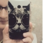 Cool Cat with Sunglass Pattern Plastic Hard Case for Motorala Moto G