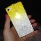 Bubbles Gradiente de cor de volta caso transparente para iPhone 4/4S (cores sortidas)