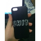 Hard Case PC Motif Shit solide pour iPhone 5/5S