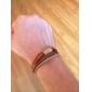 Punk 5.4cm Мужская кофе Кожа Кожаный браслет (1 шт)