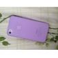 fosco de volta caso ultra fino para iphone 4 / 4s (cores sortidas)