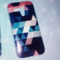 Colorful Diamond Puzzle Abstract Pattern Plastic Hard Case for Motorala Moto G