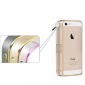Pour Coque iPhone 5 Antichoc Coque Antichoc Coque Couleur Pleine Dur Métal iPhone SE/5s/5
