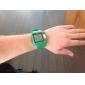 Мужская Многофункциональный цифровой площадь ЖК Резиновая лента наручные часы (разных цветов)
