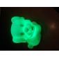 Sweet Dog vormige kleurrijke LED Night Light (3xAG13)