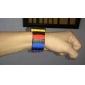Men's Watch Sports Block Bricks Style LCD Digital Colorful Plastic Band Wrist Watch Cool Watch Unique Watch Fashion Watch