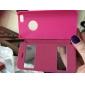 용 아이폰5케이스 윈도우 / 플립 케이스 풀 바디 케이스 단색 하드 인조 가죽 iPhone SE/5s/5