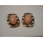 Stud Earrings Vintage Victorian Luxury Gemstone Alloy Jewelry For Daily