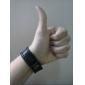 Муж. Браслеты с подвесками Кожаные браслеты Кожа Уникальный дизайн Мода Простой стиль Бижутерия Черный Бижутерия 1шт
