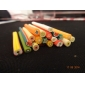 20pcs Cute 3D Fruits Nail Art FIMO Canes Rods Decoration