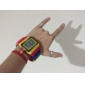 Reloj Pulsera LED Con Correa de LEGOS de Colores y Luz Nocturna