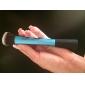 1PCS Light Blue Nylon Hair Aluminium Handle Makeup Blusher/Foundation/Powder Brush(Random Type,17x3x2cm)