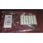 T10/BA9S/Festoon 8W 36x5730SMD Natural White Light LED lamp voor in de auto leeslamp (12V)