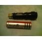 Small Sun ZY-568-modus Vanntett LED-lommelykt (100ML, 1x18650, Black)