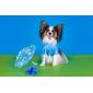Собаки Ботинки и сапоги Водонепроницаемый Лето Весна/осень Однотонный Красный Желтый Синий Лиловый Черный Резина