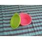 Кошка Собака Миски и бутылки с водой Животные Чаши и откорма Компактность Складной Зеленый Оранжевый Розоватый Силикон