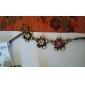 Bijoux en gros mignon de bonbons colorés fleur Collier pull européens et américains N211