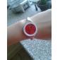 Dames Modieus horloge Kwarts Legering Band Bangle armband Zilver