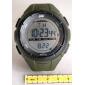 SKMEI Мужской Спортивные часы Модные часы Наручные часы электронные часы LCD Календарь Секундомер Защита от влаги тревога Цифровой Pезина