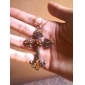 Retro ornaments Cross Pendant Women Fashion Sweater Chain N94