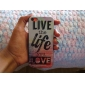 Live and Life of Sea Pattern Hard Case for iPhone 5C