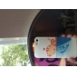 Cat Beijo Peixe Caso polonês Embossment Voltar para o iPhone 5/5S Dull