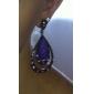 boucles d'oreilles de style spéciales goutte d'eau rétro pour femmes (violet)