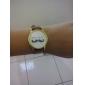 Kvinnors Moustache Design PU Band Analog Quartz Wrist Watch (Brown)